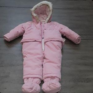 KANZ Pink Baby Snowsuit